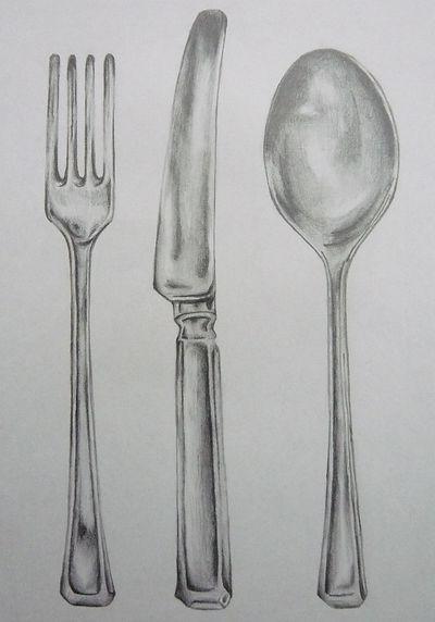 Sophie Sfikas - 'Dinner Time' - graphite