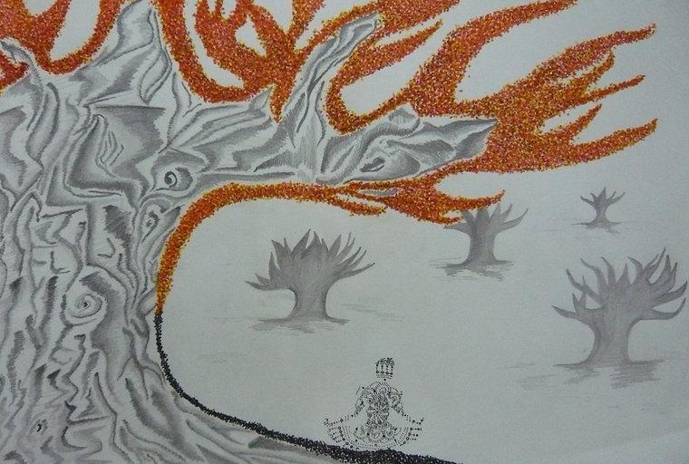 Olivia Stephenson - 'Meditation Tree' -