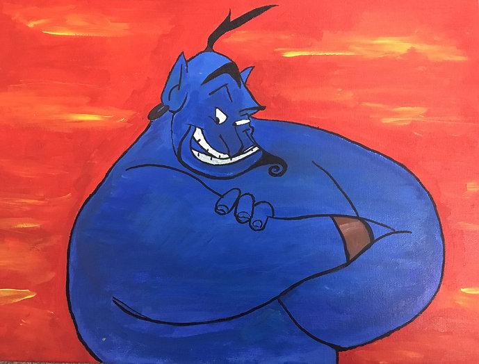 Genie - Acrylic paint.jpg