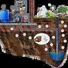 Бурение скважин и подведение воды в дом