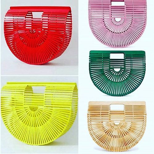 Bamboo Glam Bag(Red or Yellow only)