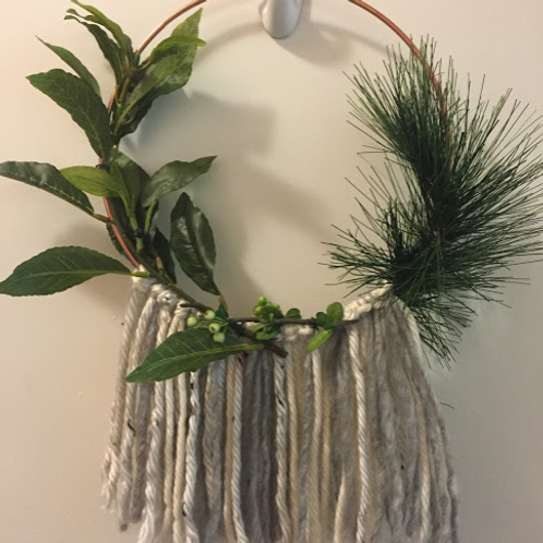 Fringe Wreath