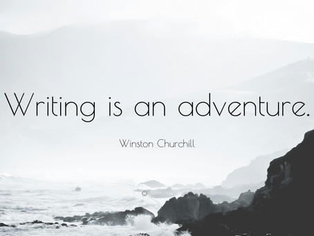 Everything's an adventure: Where I come up with my story ideas.
