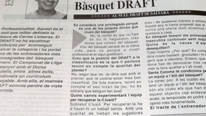 Records històrics: Carme Lluveras comença el seu treball amb el Bàsquet Draft