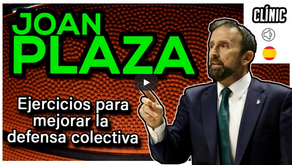 Clínic Joan Plaza. Exercicis per millorar la defensa col·lectiva