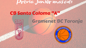 "Prèvia Derbi colomenc Junior masculí 2019-2020: CB Santa Coloma ""A"" - Gramenet BC Taronja"