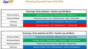 Última jornada de la Copa SCG 2019. Un diumenge imparable