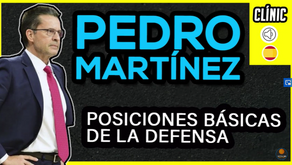 Clínic Pedro Martinez. Posicions bàsiques de la defensa