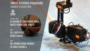 Avui, marató de representats del basquetbol de la Copa Catalunya, en directe