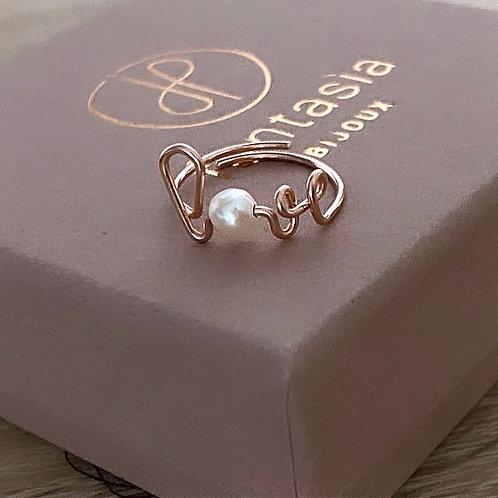 Bague LOVE Pearl