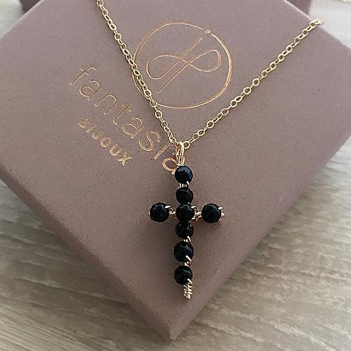 Collier Rock n•2  black