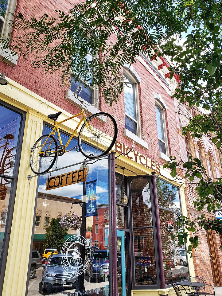 the bean pedaler coffee shop canon city colorado