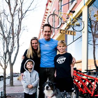family owned coffee shop the bean pedaler canon city colorado