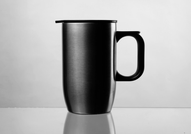 technical photography of metal product