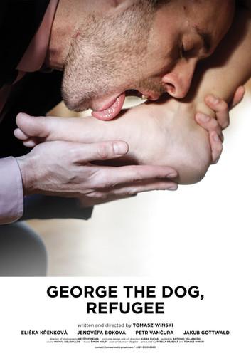 poster- George the dog refugee