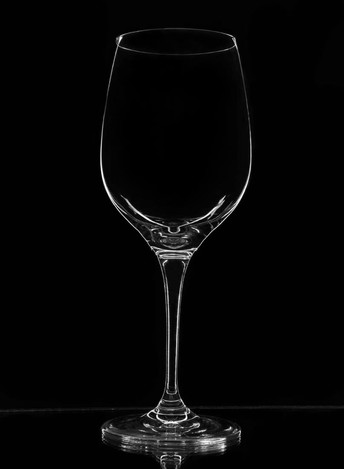 technical photography of glass