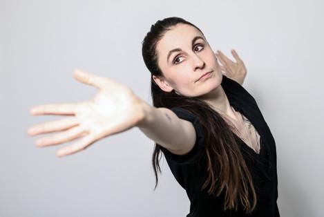 Tanečnice Lucie Charouzová