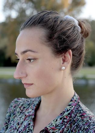 Herečka Viktorie Hásková