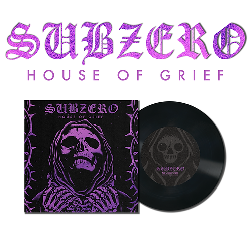 "Subzero - ""House of Grief"" Coffin Black 7"""