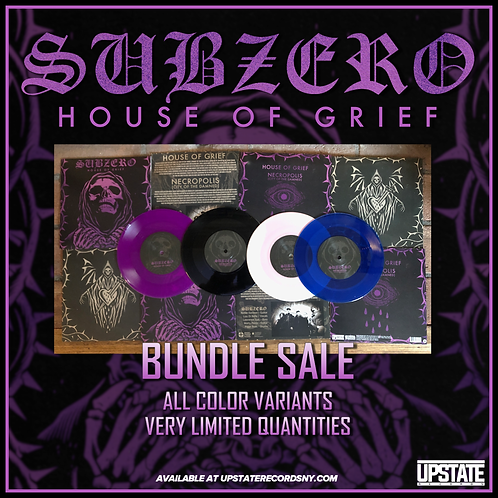 "Subzero - ""House of Grief"" Four Color Bundle"