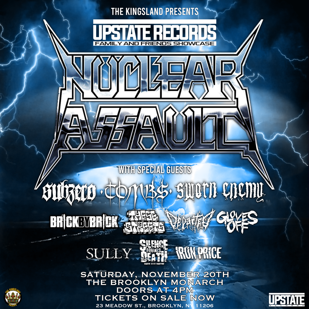 9.16.21 2021 Upstate Records Family and Friends Showcase Announced
