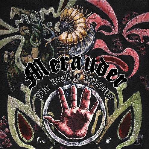 "Merauder - Five Deadly Venoms 12"" Vinyl (Yellow)"