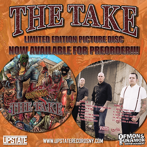 THE TAKE - Limited Edition Vinyl Picture Disc