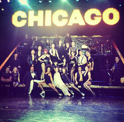 CHICAGO cast with dir. Sherry Zunker