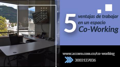 5 Ventajas de trabajar en un coworking