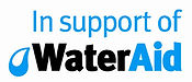 In Support of WaterAid - black and blue.