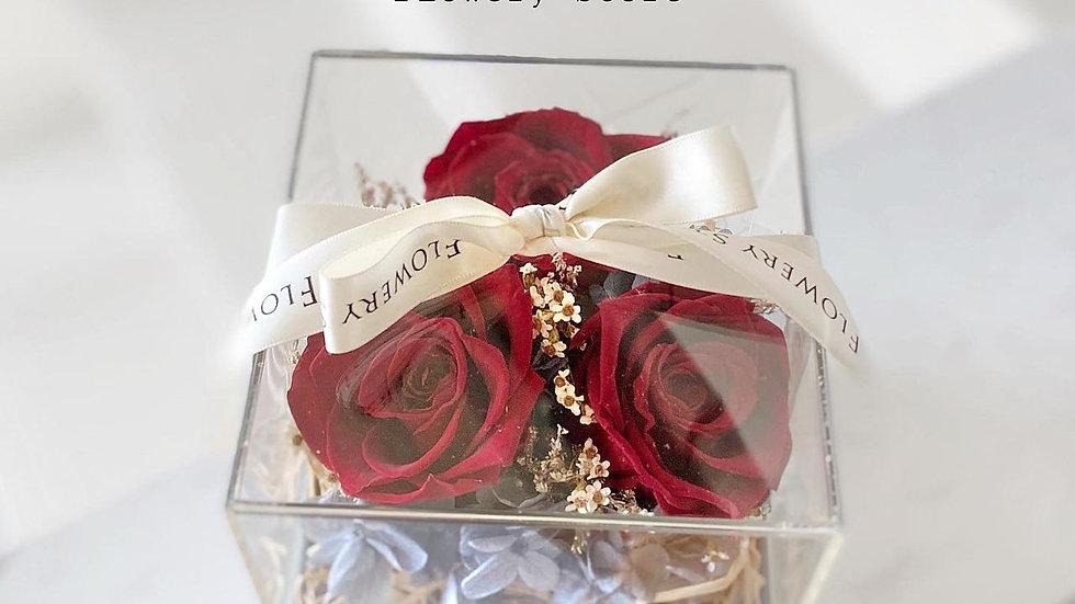 紅玫瑰首飾盒