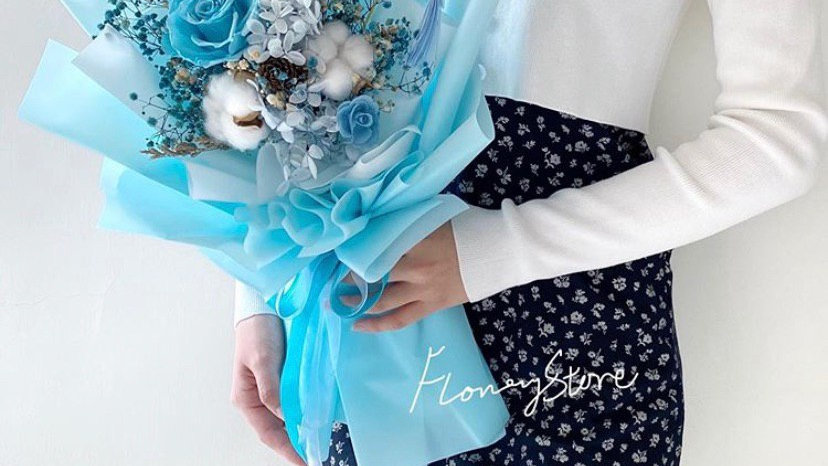 Light Blue玫瑰花束