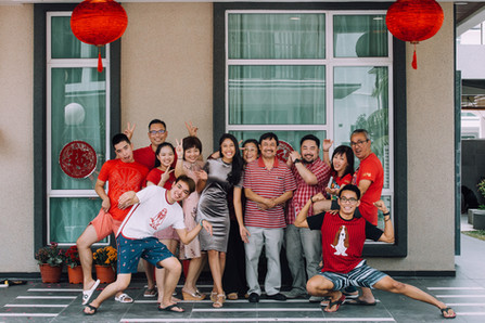 Kuala Lumpur Melaka Johor Singapore Family Friends Brother Sister Group Photo Chinese New Year Photography Top Best  Photographer Malaysia Jens Kv