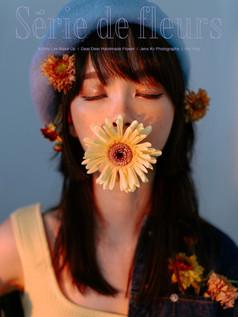 Flower, Série de fleurs, Melaka, Portrait, Studio, Sunset, Style Portrait, Yellow, Handmade, Florist, Fleurs, 個人形象照, 個性形象照, 花系列