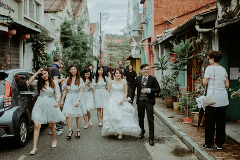 Malaysia Kuala Lumpur Melaka Johor Photography Top Best  Photographer Pre Wedding Wedding Actual Day Couple Love Romantic Forever Happiness Bride Groom Jens Kv Jonker Walk Neighbours