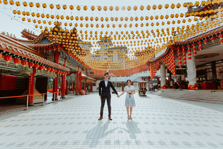 Malaysia Kuala Lumpur Melaka Johor Photography Top Best  Photographer Pre Wedding Wedding Actual Day Couple Love Romantic Forever Happiness Bride Groom  Beautiful Portrait Jens Kv ROM R.O.M. Thean Hou Temple
