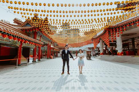 Malaysia Kuala Lumpur Melaka Johor Photography Top Best  Photographer Pre Wedding Wedding Actual Day Couple Love Romantic Forever Happiness Bride Groom  Beautiful Portrait Jens Kv ROM R.O.M. Thean Hou Temple