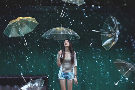 Surrealism Surreal Conceptual Umbrella Dream Rain Raining Girl Portrait Kuala Lumpur Melaka Johor Couple Pre Wedding Photography Top Best Photographer