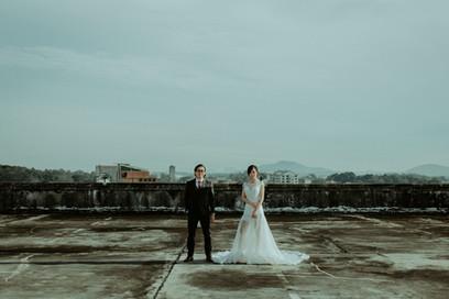 Kuala Lumpur Melaka Johor Couple Pre Wedding Photography Best Top Photographer Love Romantic Happiness Malaysia Rooftop Style Bride Groom