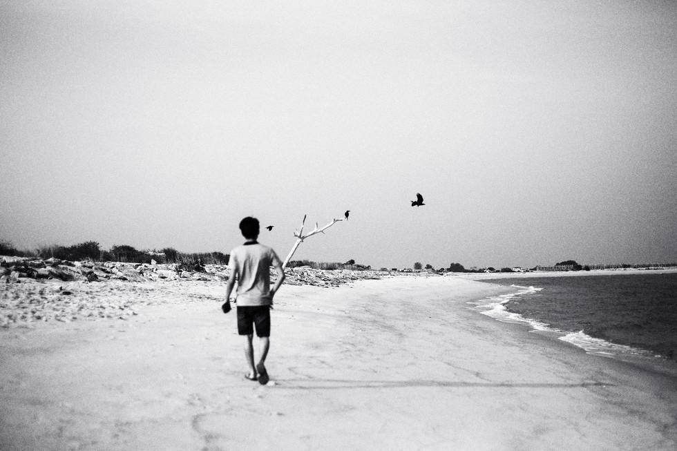 Travel Trip Malaysia Kuala Lumpur Melaka Johor Photography Top Best  Photographer Klebang Seaside Beach Bird Portrait Alone Jens Kv