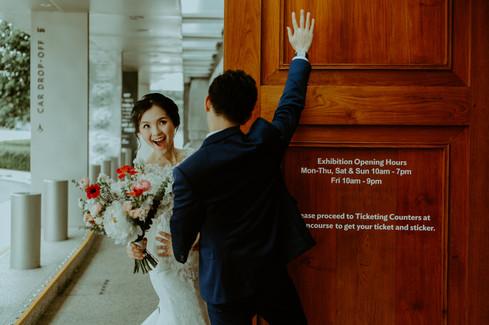 Kuala Lumpur Melaka Johor Couple Pre Wedding Photography Best Top Photographer Love Romantic Happiness Malaysia Singapore National Gallery Bride Funny Creative
