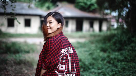 portrait, malaysia, outdoor, girl