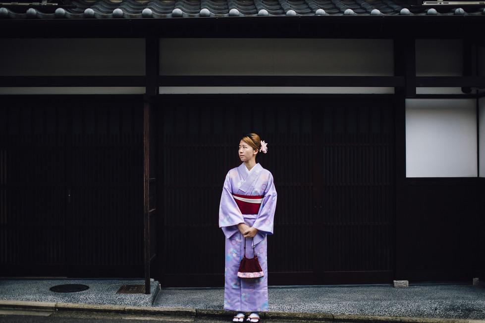 Kyoto, Travel, Trip, Japan, Purple