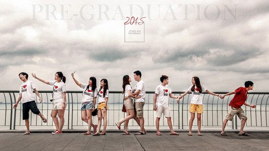 Malaysia Kuala Lumpur Melaka Johor Photography Top Best  Photographer Multimedia University MMU Pre Graduation Group Photo Creative Fun Crazy Craziness Happiness Drama Dramatic Portrait Penang  Jens Kv