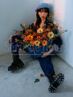 PY-Yellow V2-34-wm.jpgaFlower, Série de fleurs, Melaka, Portrait, Studio, Sunset, Style Portrait, Yellow, Handmade, Florist, Fleurs, 個人形象照, 個性形象照, 花系列