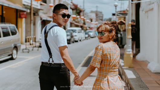 Kuala Lumpur Melaka Johor Couple Casual Pre Wedding Photography Best Top Photographer Love Romantic Happiness Malaysia Style Bride Groom Jonker Walk Summer TheWeddingNotebook Wedding Notebook Klebang