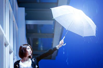 Umbrella Rain Raining Girl Alone Portrait Kuala Lumpur Melaka Johor Couple Pre Wedding Photography Top Best Photographer Jens Kv