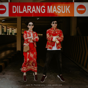 A COLOURFUL TWIST ON TRADITIONAL BRIDAL PORTRAITS IN MALACCA