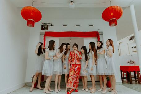 Malaysia Kuala Lumpur Melaka Johor Photography Top Best  Photographer Pre Wedding Wedding Actual Day Couple Love Romantic Forever Happiness Bride Groom Jens Kv Kwa Kua Traditional Wedding Gown