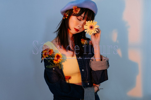 PY-Yellow V2-111-wm.jpgaFlower, Série de fleurs, Melaka, Portrait, Studio, Sunset, Style Portrait, Yellow, Handmade, Florist, Fleurs, 個人形象照, 個性形象照, 花系列